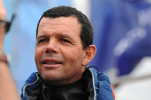 Brazil's most successful Olympian Torben Grael, leads Team Brasil as a wildcard entry for Act 8, Rio ©  David Kneale/Volvo Ocean Race http://www.volvooceanrace.com/