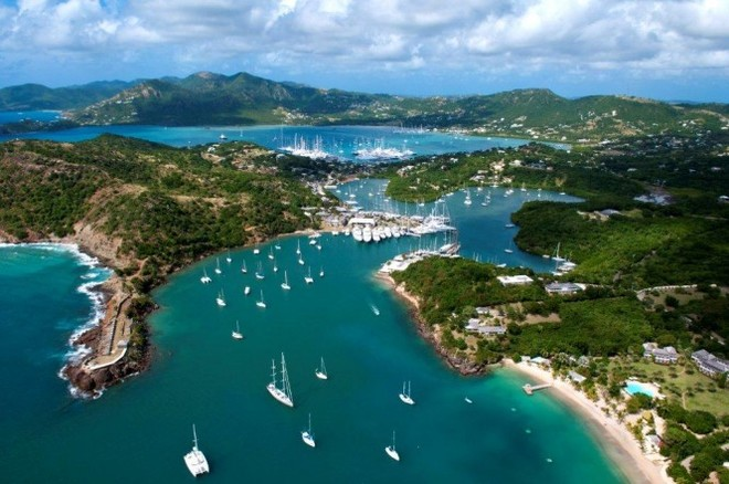 Antigua, chosen by Christmas Caribbean Rally 2013 as arrival point ©  SW
