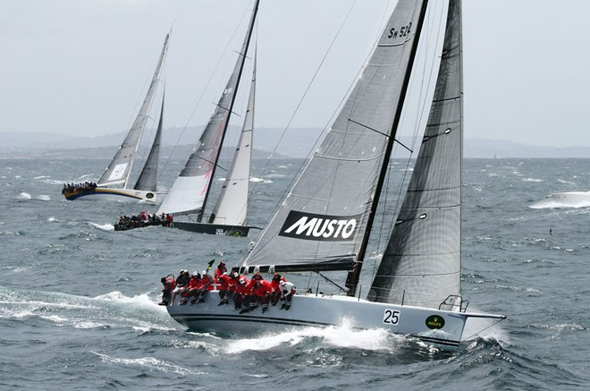 Calm, Living Doll and KLC Bengal 7 - Rolex Sydney to Hobart ©  Alex McKinnon Photography http://www.alexmckinnonphotography.com