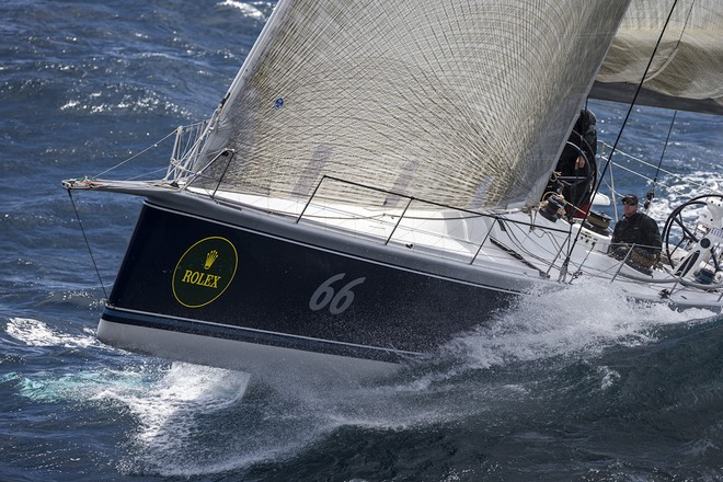 66, BLACKJACK, Sail No: 52566, Owner: Peter Harburg, Design: Reichel Pugh 66, LOA (m): 20.2, State: QLD © ROLEX-Carlo Borlenghi