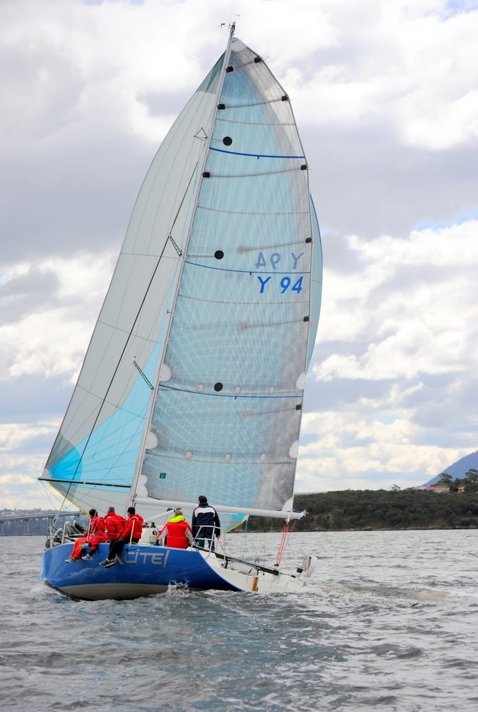 Robin White's Rocket 31, Xcite, is sailing in its first L2H ©  Andrea Francolini Photography http://www.afrancolini.com/