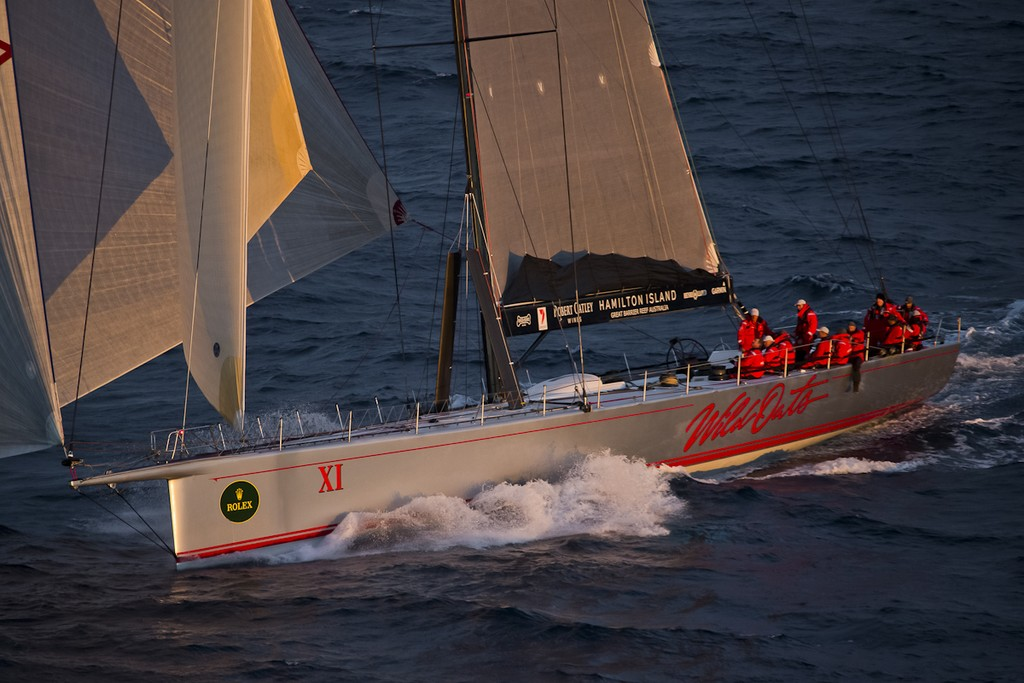 Wild Oats XI is looking at the treble again. Credit ROLEX-Carlo Borlenghi © ROLEX-Carlo Borlenghi