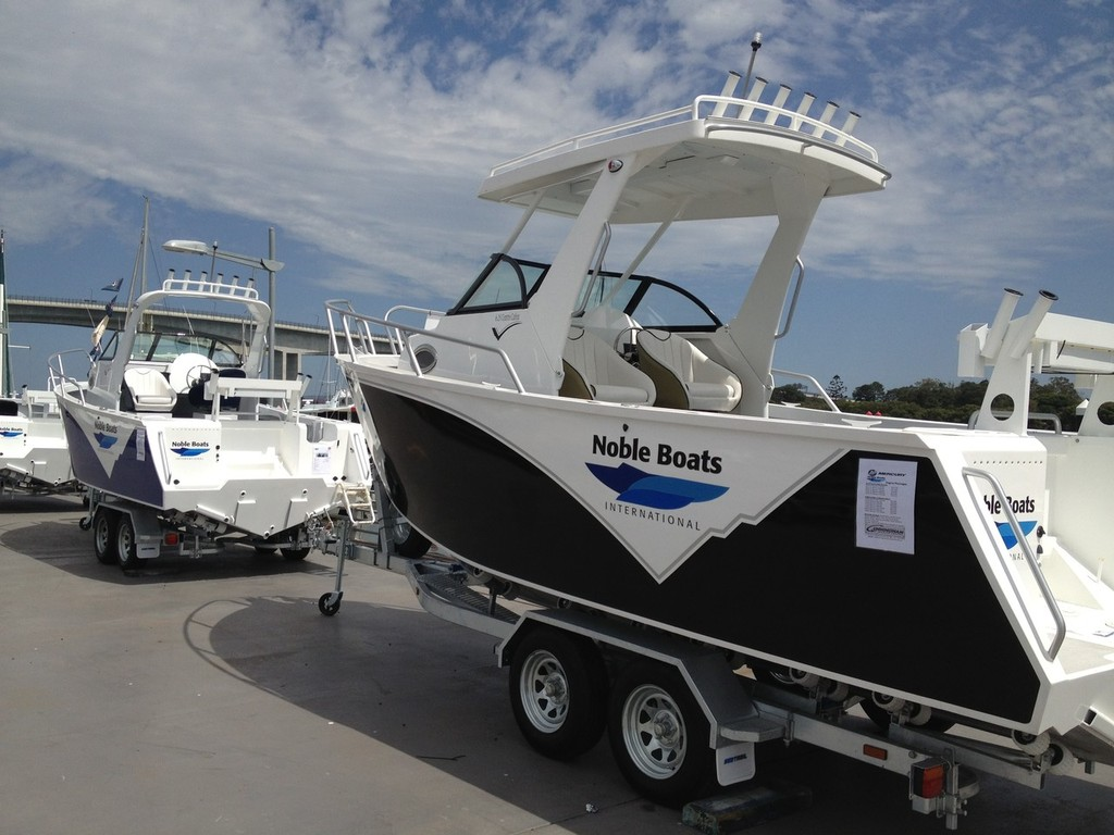Noble boats, distributed by Marine Auctions. © Marine Auctions