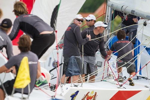 Peter Gilmour, Yanmar Racing - 2012 Monsoon Cup © Gareth Cooke - Subzero Images http://www.subzeroimages.com