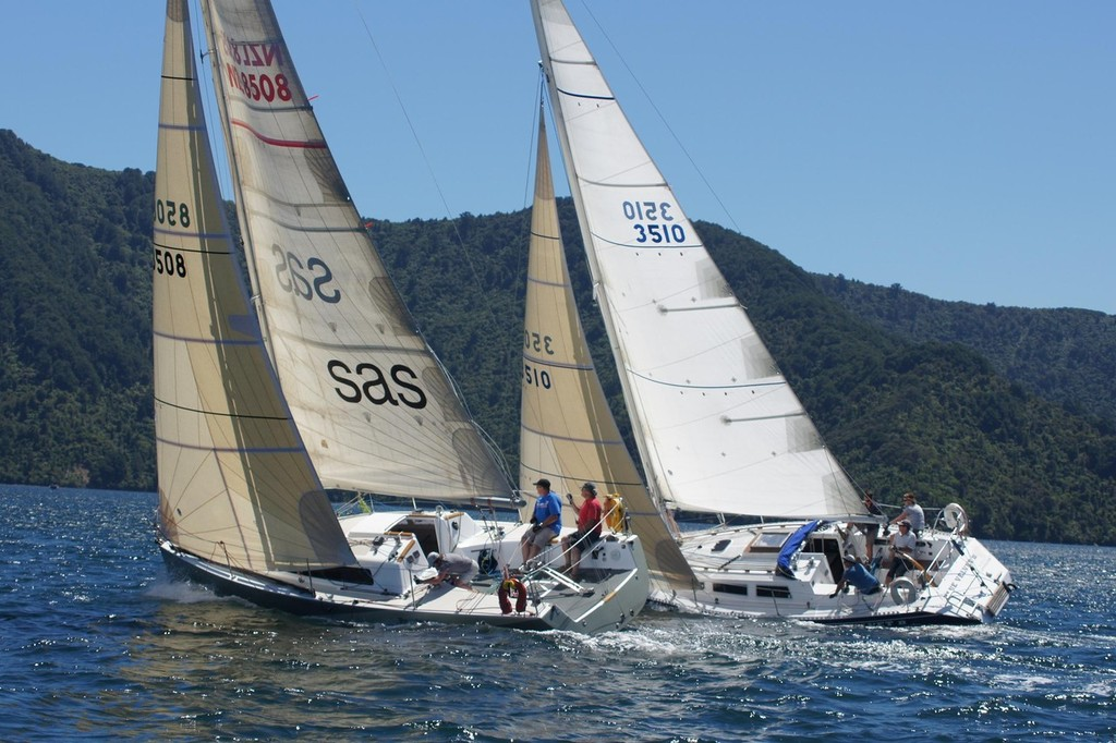 Farr Verses Young - Racing in the Marlborough Sounds © Don Gurteen