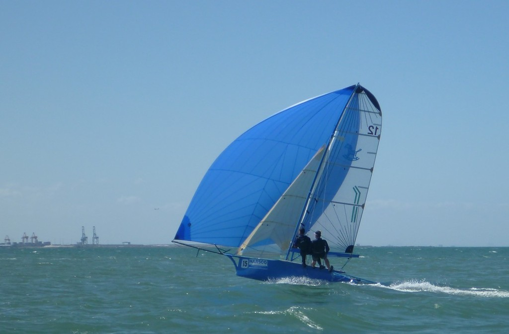 Giddy Up from Geelong - 12ft Skiff Interdominions - Invitation Race © Richard Billett