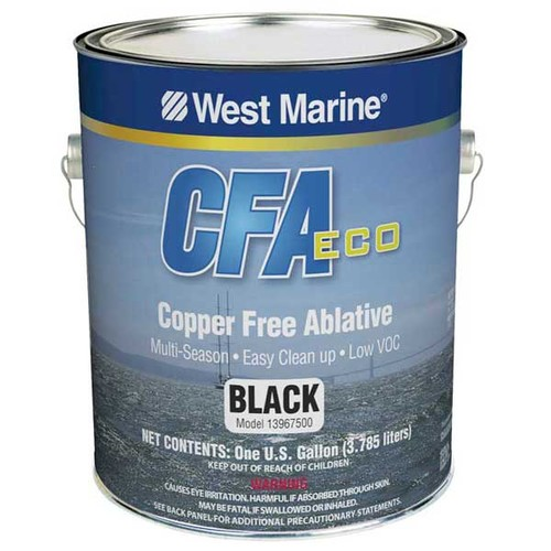 West Marine CFA Eco bottom paint ©  SW