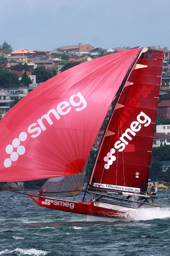 Smeg - JJ Giltinan 18ft Skiff Championship © Frank Quealey /Australian 18 Footers League http://www.18footers.com.au