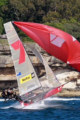 Gotta Love It 7 - JJ Giltinan 18ft Skiff Championship © Frank Quealey /Australian 18 Footers League http://www.18footers.com.au