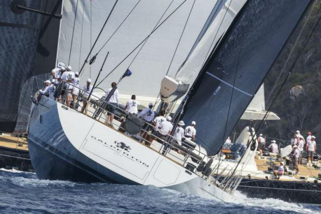 Salperton in action © Jeff Brown / Superyacht Media