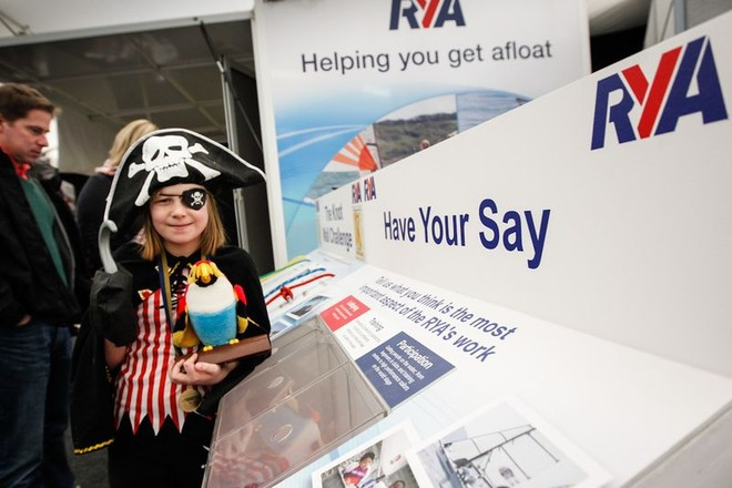 Day 1 - RYA Dinghy Show 2013 © RYA http://www.rya.org.uk