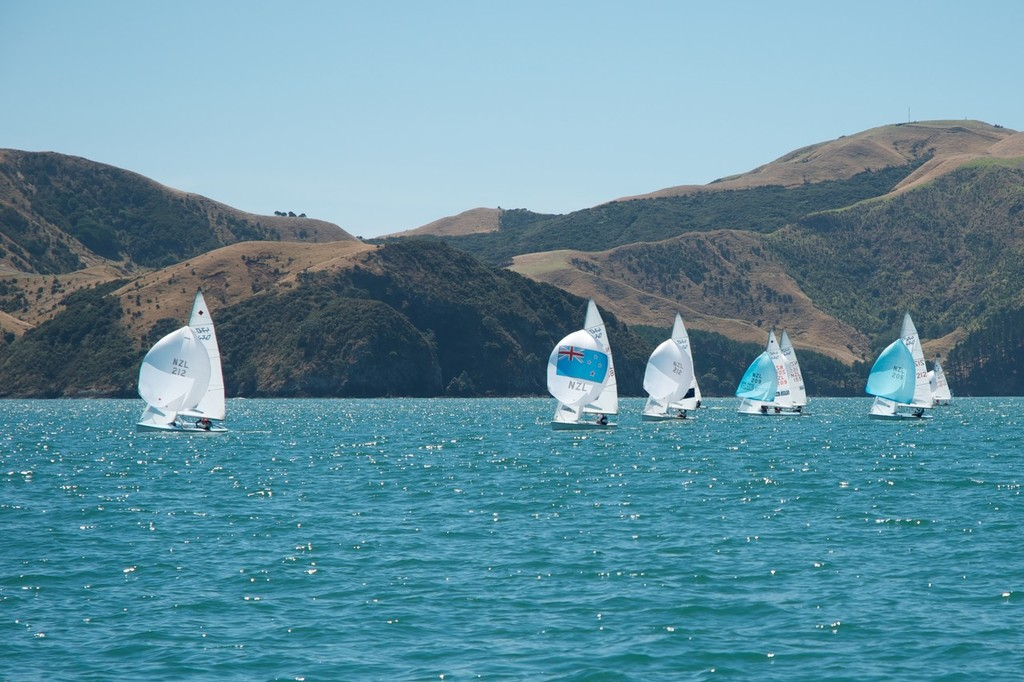 Nine boats took part in the regatta, including Olympic, junior and master sailors. - NZ 470 Nationals © Christine Hansen