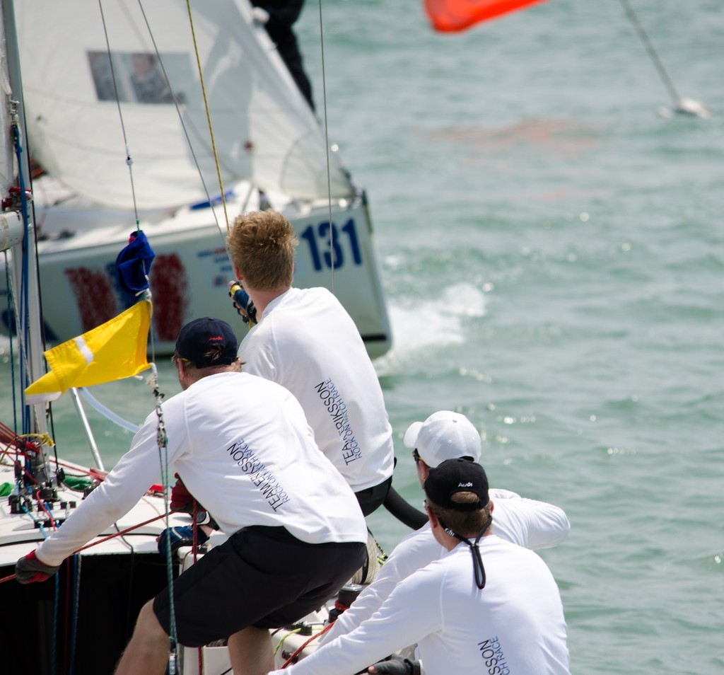 Team Eriksson, Finland show what this sport is all about - Matchrace Thailand Open Nationals, First day © Alex Samaras