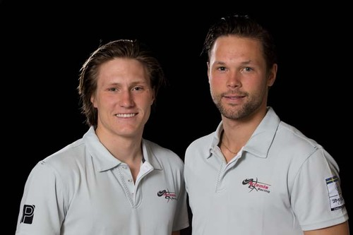 Charlie Ekberg (left) and Niclas During © Sander van der Borch / Artemis Racing http://www.sandervanderborch.com