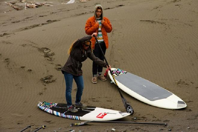 Day One at the AWT Pistol River Wave Bash  © American Windsurfing Tour http://americanwindsurfingtour.com/
