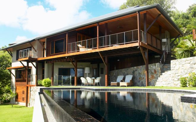 Iluka is a exquisite five bedroom home located on the northern end of the island! © Kristie Kaighin http://www.whitsundayholidays.com.au