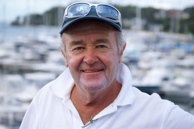 Len Payne, owner skipper of Kerinda © Sail Port Stephens Event Media