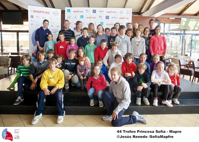 Spanish Olympic champions conference with kids - 44th Trofeo Princesa Sofia Mapfre © Jesus Renedo / Sofia Mapfre http://www.sailingstock.com