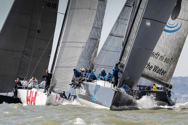 Toe in the water,On the start line, ©  Paul Wyeth / RORC