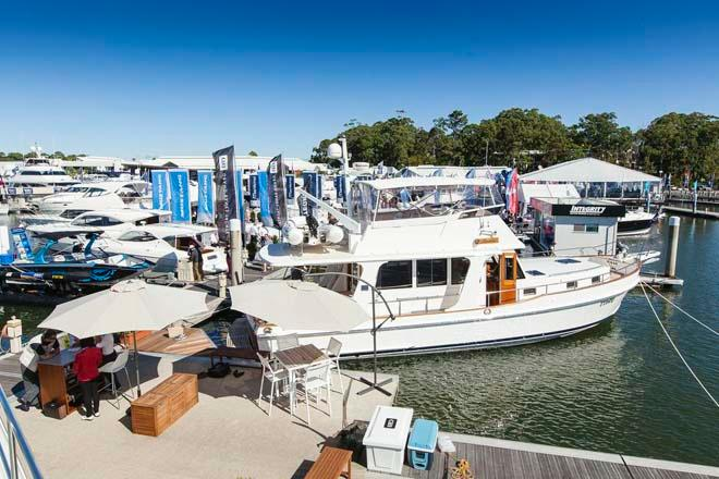 2013 Sanctuary Cove International Boat Show - Day 1 in the marina © Mark Burgin