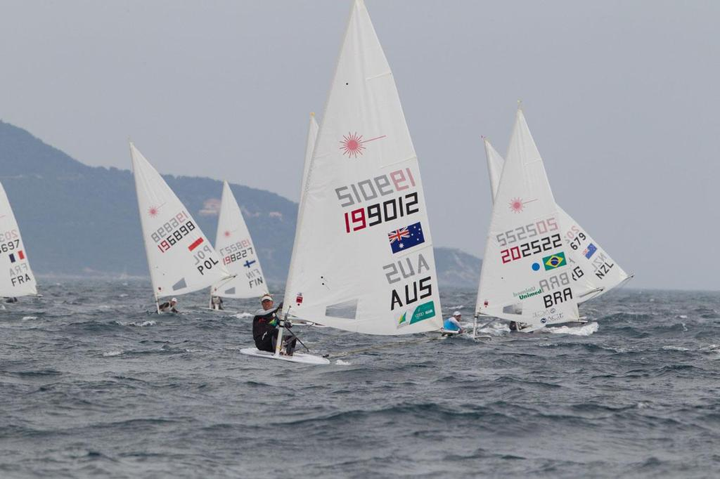 2013 ISAF Sailing World Cup Hyeres - Laser © Thom Touw http://www.thomtouw.com