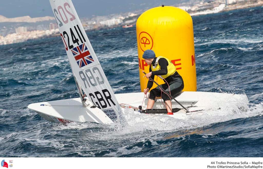 44 Trofeo Princesa Sofia Mapfre Medal Race, day 6 - Laser Radial; GBR; GBR-202411; 3; Alison Young © MartinezStudio.es