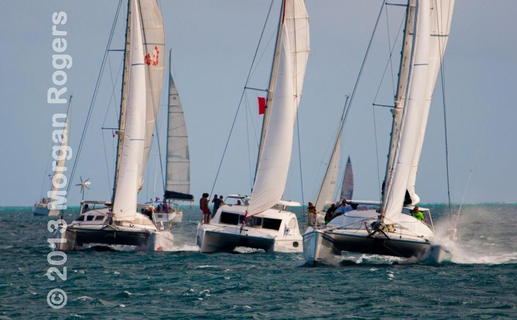 Multi hulls lead the way © Morgan Rogers