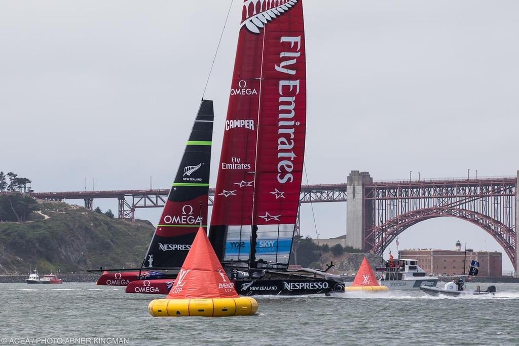 34th America's Cup - Day 1 of racing for the LV Cup,  © ACEA / Photo Abner Kingman http://photo.americascup.com