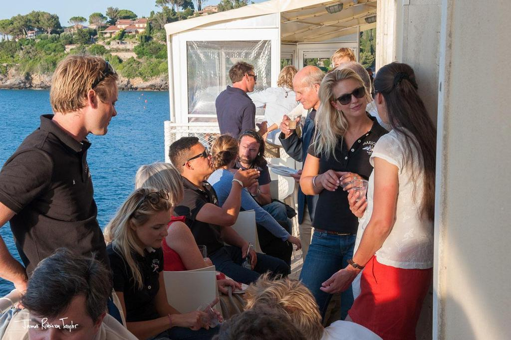 Welcome cocktail - 2013 Argentario Sailing Week ©  NOAA PIFSC http://www.pifsc.noaa.gov/