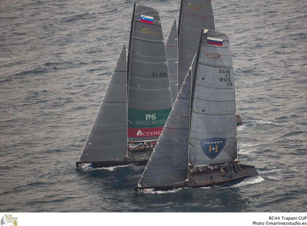 Team CEEREF and Synergy Russian Sailing Team - 2013 RC44 Trapani Cup © RC44 Class/MartinezStudio.es