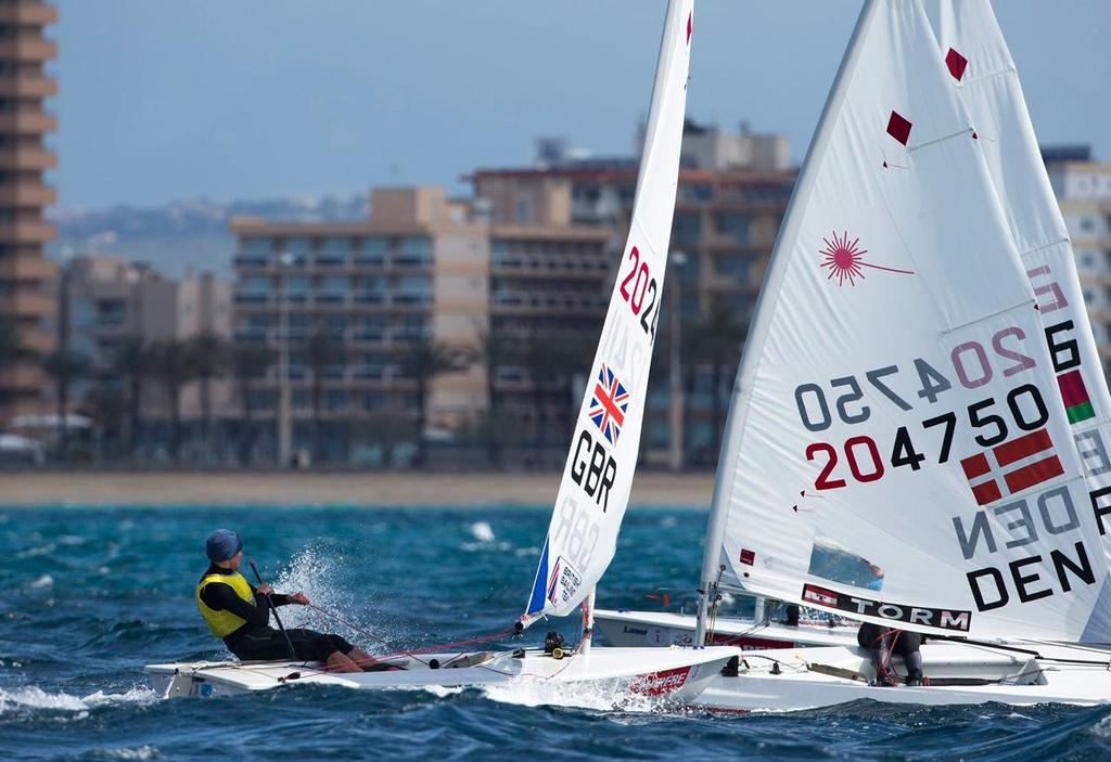 Alison Young, Laser Radial - Trofeo Princesa Sofia Mapfre, ISAF Sailing World Cup Palma 2013 ©  Richard Langdon http://www.oceanimages.co.uk