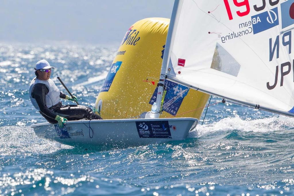 Laser Radial - ISAF Sailing World Cup Hyeres 2013 Day 3 © Thom Touw http://www.thomtouw.com