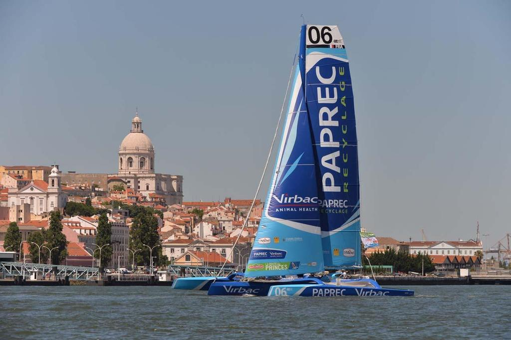 Live photos from the Lisbon Stopover's arrival of the Route des Princes © Ricardo Pinto http://www.americascup.com