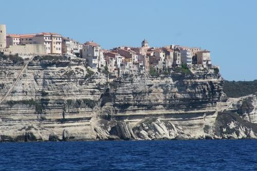 The old town of Bonifacio © Trevor Joyce http://marinerboating.com.au