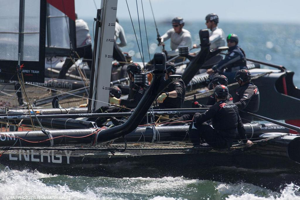 America's Cup World Series Naples 2013 - Energy Team © ACEA - Photo Gilles Martin-Raget http://photo.americascup.com/
