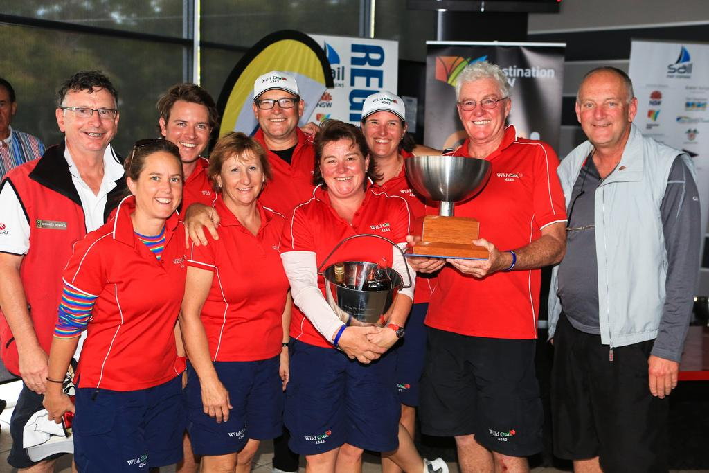 Wild Rose,  NSW IRC Division 2 Champion © Craig Greenhill Saltwater Images - SailPortStephens http://www.saltwaterimages.com.au