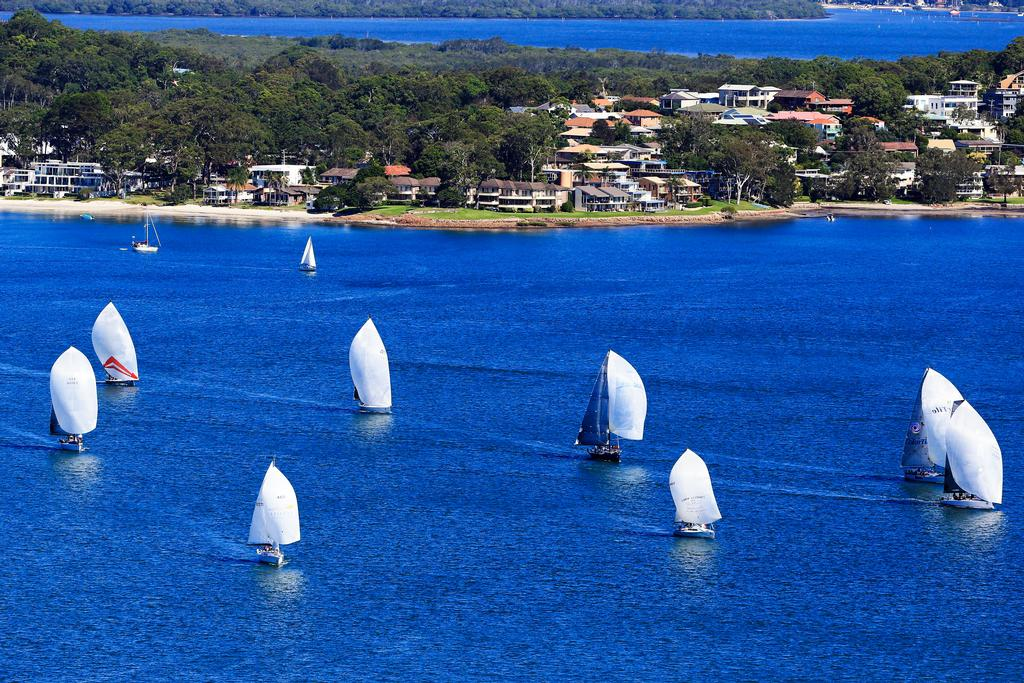 Performance Racing © Craig Greenhill Saltwater Images - SailPortStephens http://www.saltwaterimages.com.au