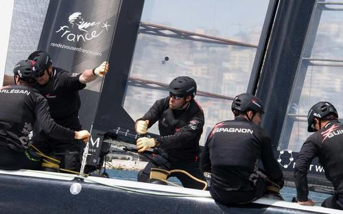 2013 America's Cup World Series Naples - Super Sunday Energy Team © Stephanie Billarant / Energy Team