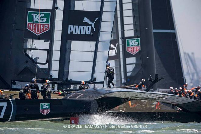 - Oracle Team USA - July 19, 2013 © Guilain Grenier Oracle Team USA http://www.oracleteamusamedia.com/