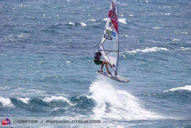 Juniors action - 2013 PWA Pozo World Cup day 4 ©  John Carter / PWA http://www.pwaworldtour.com