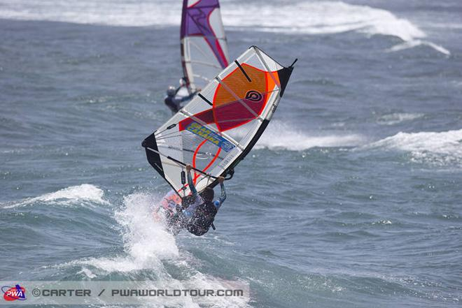 Off the lip - 2013 PWA Pozo World Cup day 4 ©  John Carter / PWA http://www.pwaworldtour.com