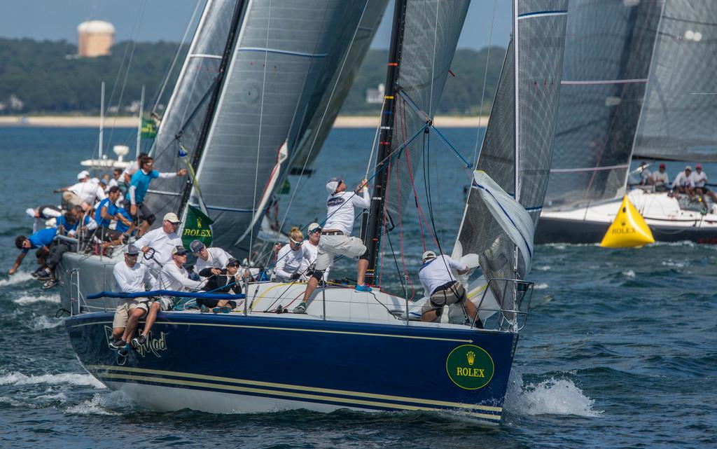 Barking Mad finished second overall and has won the Farr 40 U.S. Circuit at the Rolex Farr 40 North American Championship ©  Rolex/Daniel Forster http://www.regattanews.com