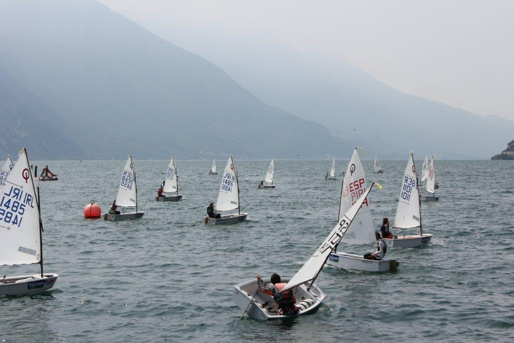 Day 1, 2013 Optimist World Championships © SW