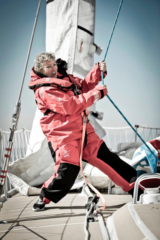 Sanya Serenity Coast skipper Wendy Tuck – Clipper Yacht Race © Clipper Ventures