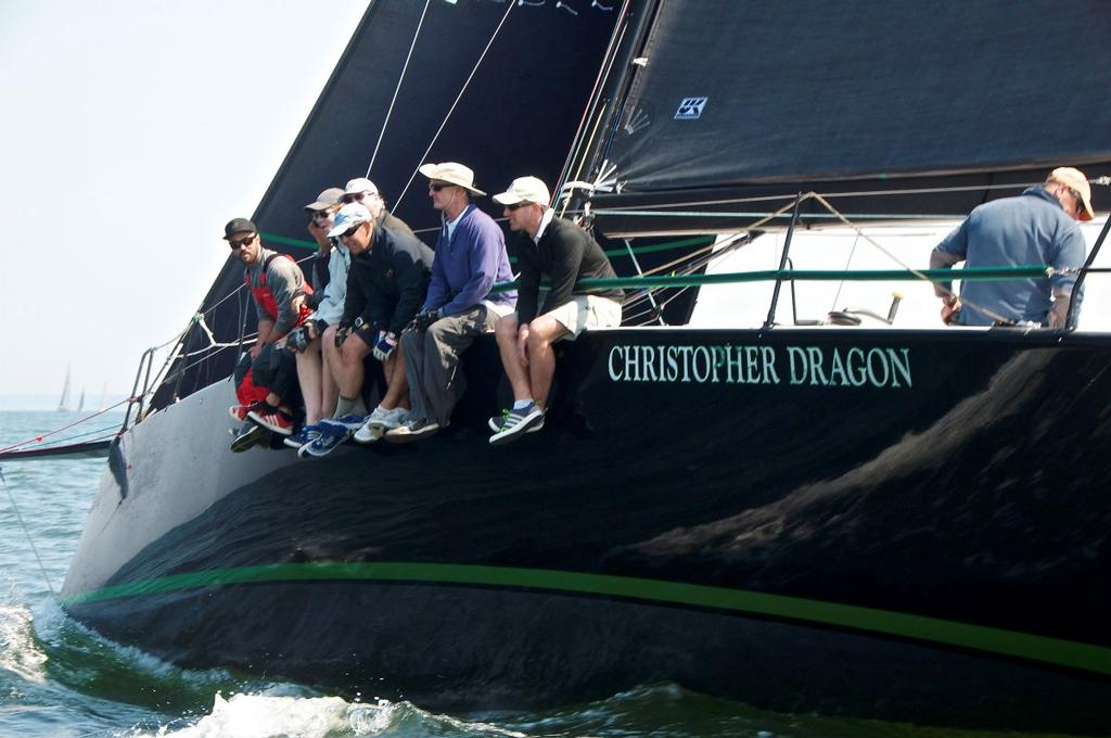 Christopher Dragon during the Block Island Race - photo © Storm Trysail Club