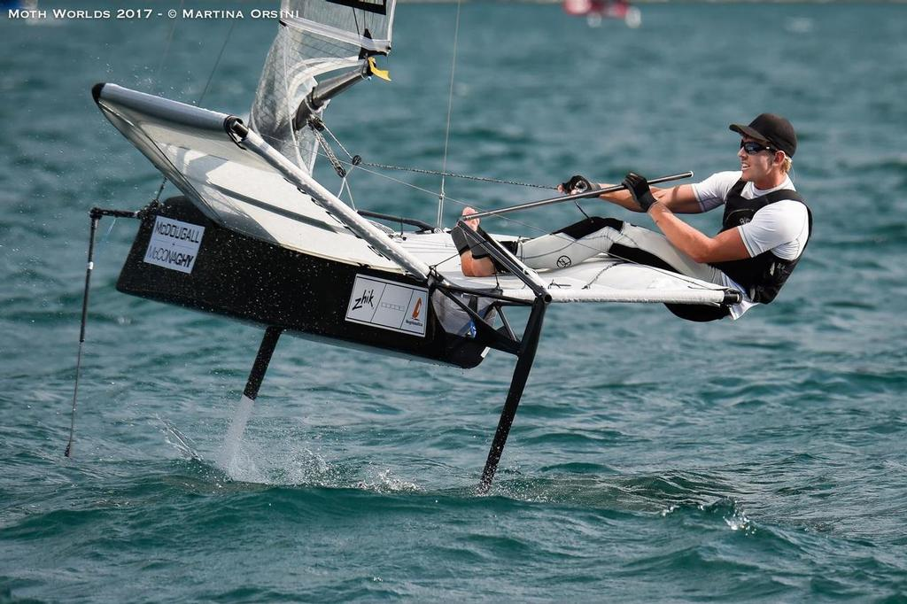 America's Cup champion - Peter Burling - Day 5 – McDougall + McConaghy Moth Worlds 2017 ©  Martina Orsini