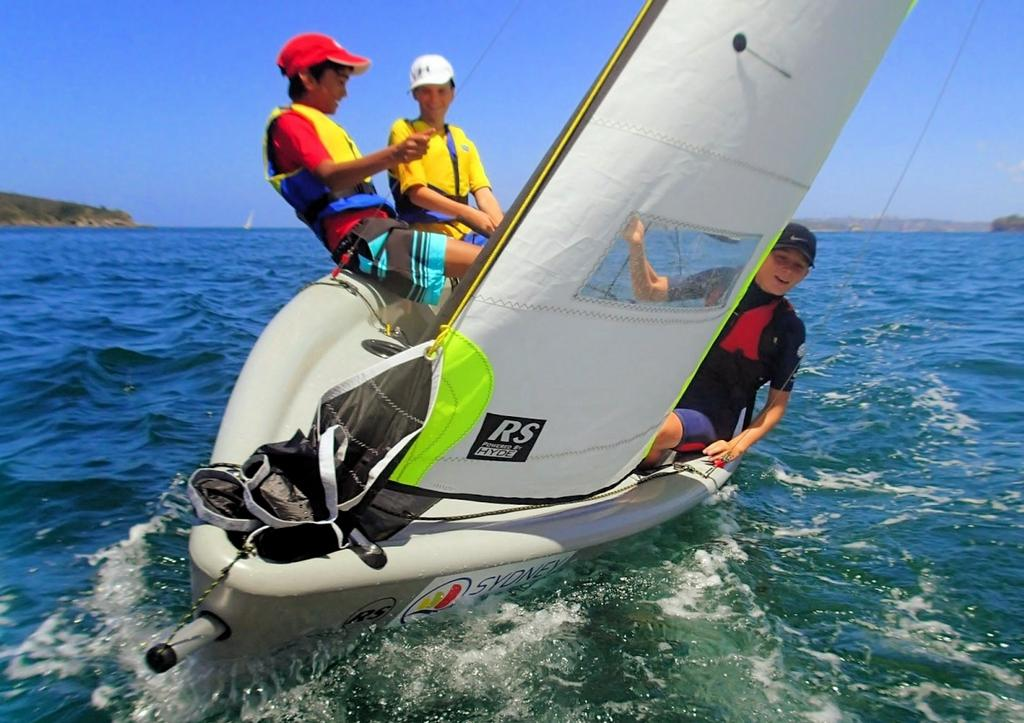 Kids having Feva fun in Sydney © Sailing Raceboats
