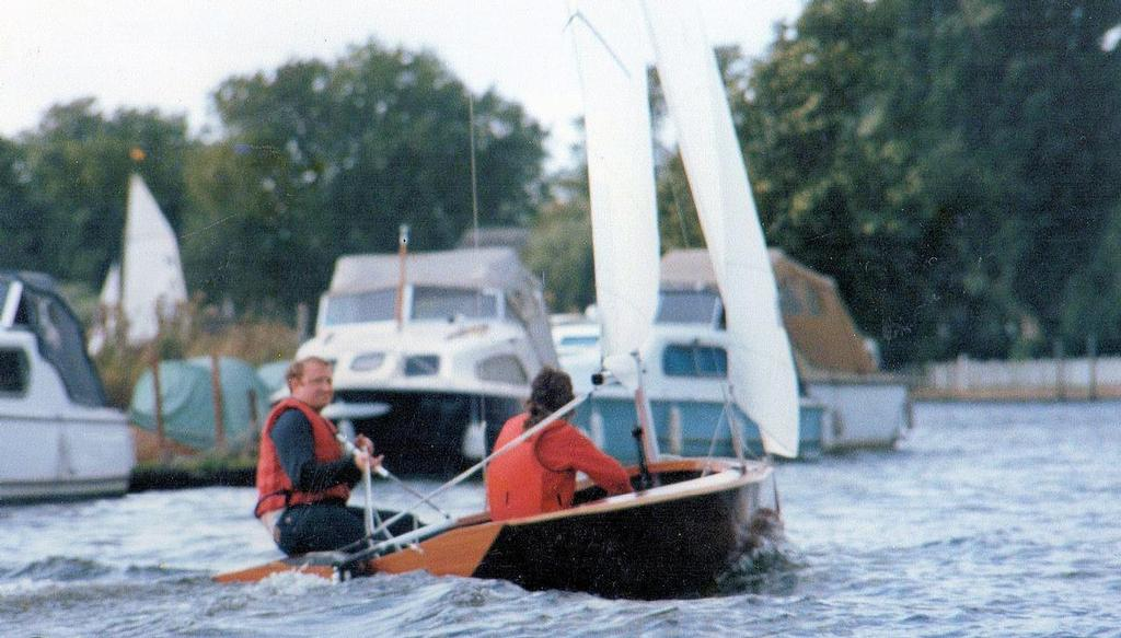 Tom Pearce sailing his National 12 © Sailing Raceboats