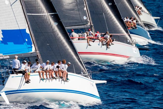 11 ClubSwan 50 sailed at The Nations Trophy ©  Studio Borlenghi