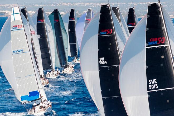 28 Swan One Designs raced for The Nations Trophy ©  Studio Borlenghi